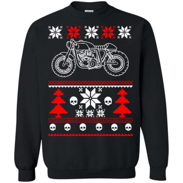 GearHead Biker Christmas sweater Apparel