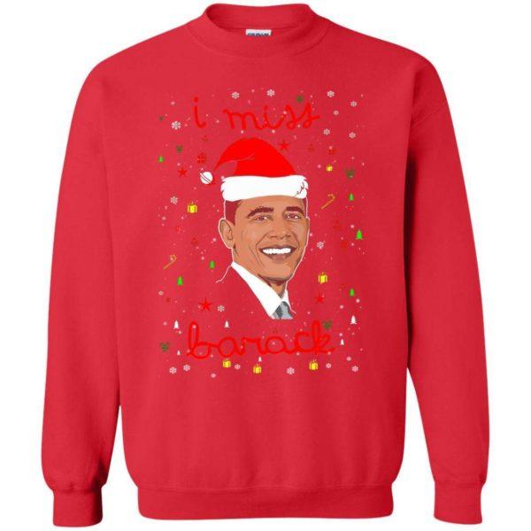 I miss Barack Obama Christmas sweater Apparel