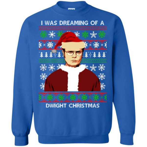 I'm dreaming of a Dwight Christmas sweater Apparel