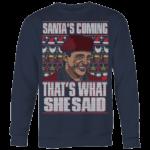 Crewneck Sweatshirt Big Print