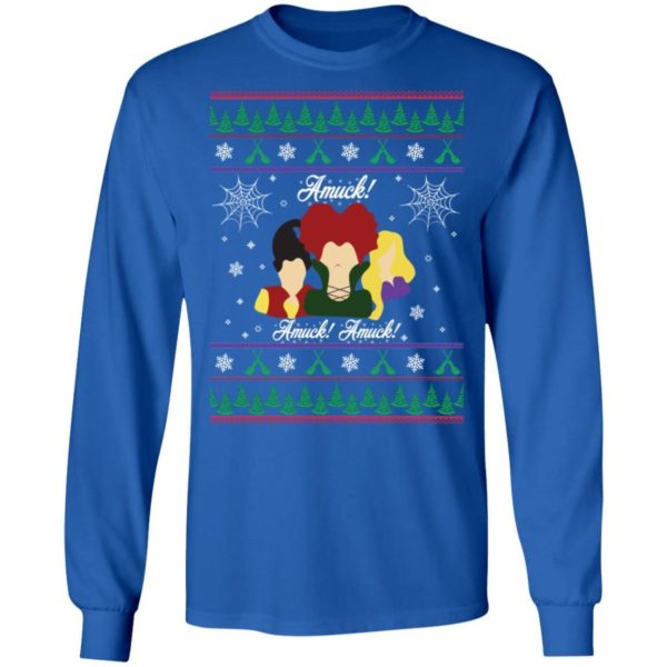 Hocus Pocus Amuck Christmas Sweater Apparel