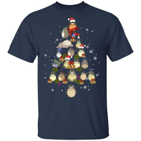 Totoro christmas tree christmas shirt Apparel