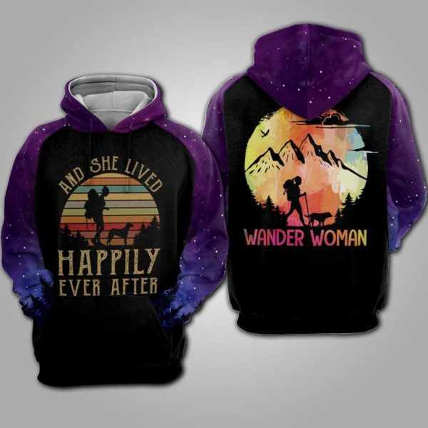 And She Lived Happily Ever After 3D Hoodie Apparel