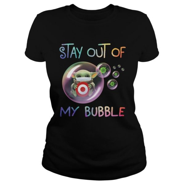 Stay Out Of My Bubble Baby Yoda Hug Target Shirt Apparel