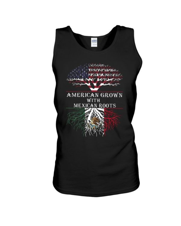American Grown With Mexican Roots Shirt Apparel