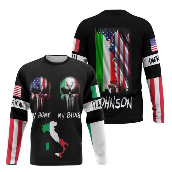 Customize Italy All over Print Shirt Apparel