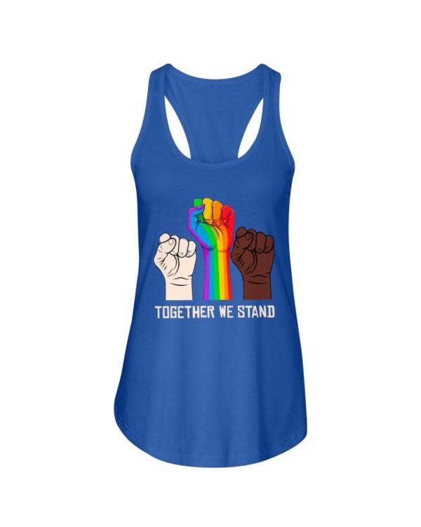LGBT Together We Stand Shirt Apparel