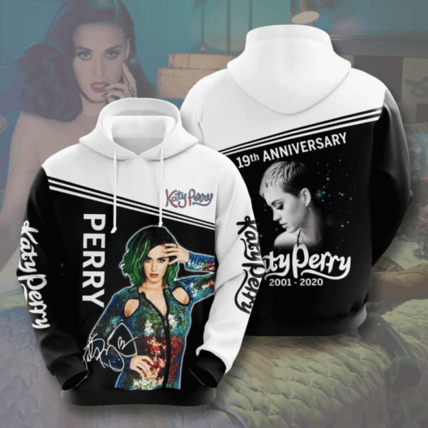 Katy Perry Signature 3D Hoodie Apparel