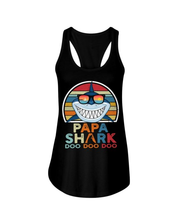 Papa Shark Doo Doo Doo Shirt Apparel