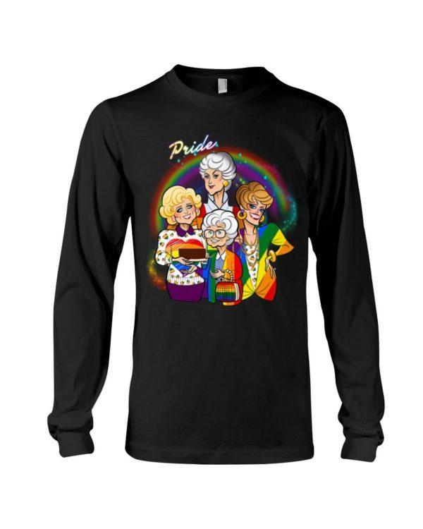 Golden Girls Pride LGBT Shirt Apparel