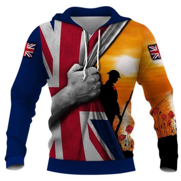 July Independence Day UK 3D Flag Shirt Apparel