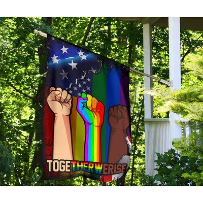 LGBT Togetherwerise Flag Apparel