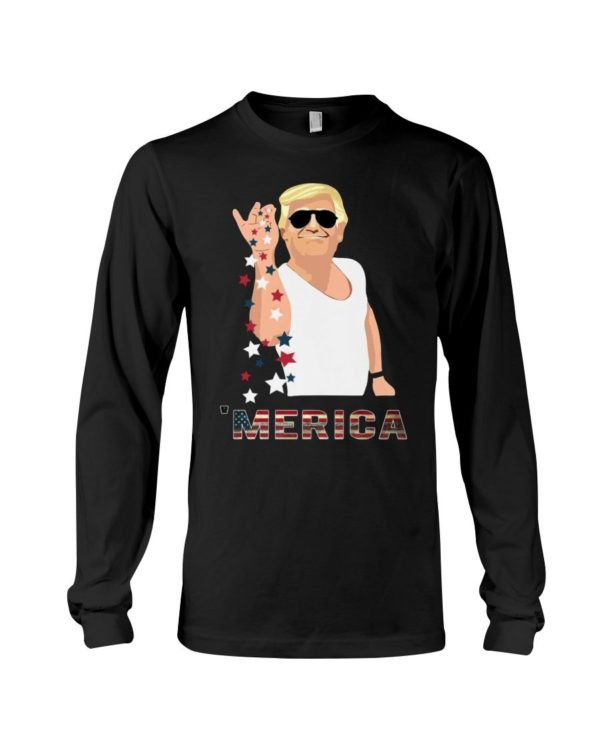 Trump Salt Bae America Shirt Apparel