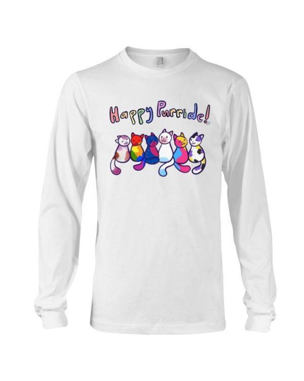 Cats Happy Purride Shirt Apparel