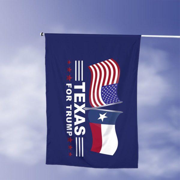 Texas For Trump Flag Apparel