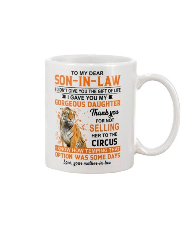 To My Dear Son In Law Shirt Apparel