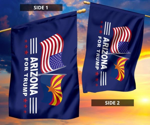 Arizona For Trump Flag Apparel