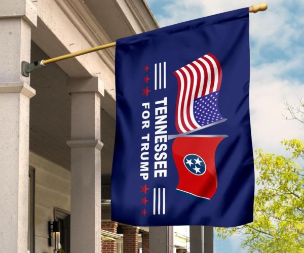 Tennessee For Trump Flag Apparel