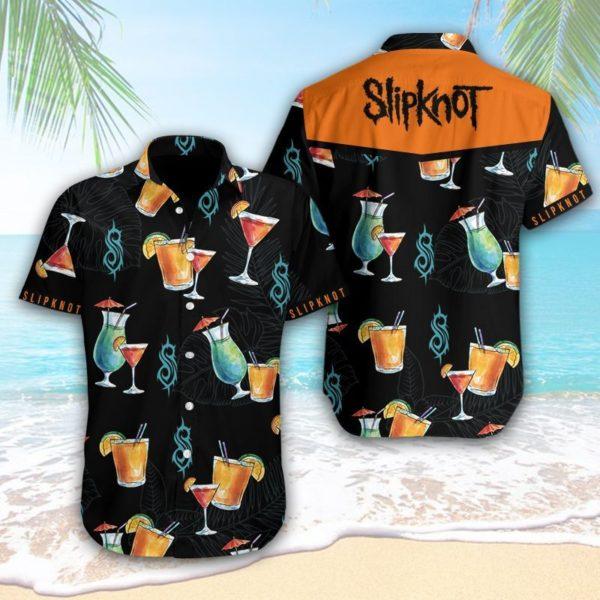 Slipknot Hawaiian Cocktail Shirt Apparel