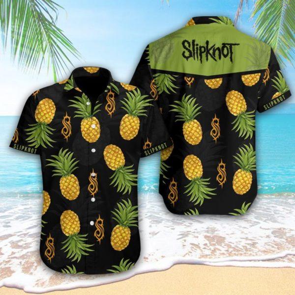 Slipknot Hawaiian Pineapple Shirt Apparel