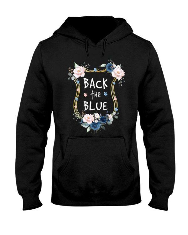 Black The Blue Sunflower Shirt Apparel
