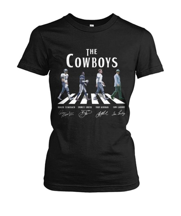 The Cow Boys Abbey Road Shirt Apparel