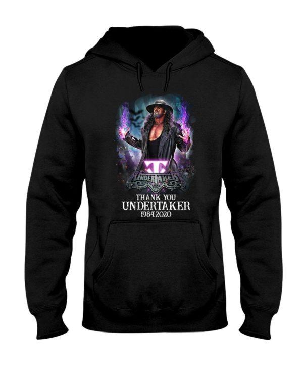 Thank You Undertaker 1984 2020 Shirt Uncategorized