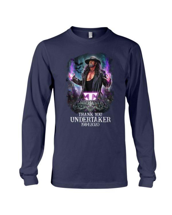 Thank You Undertaker 1984 2020 Shirt Apparel