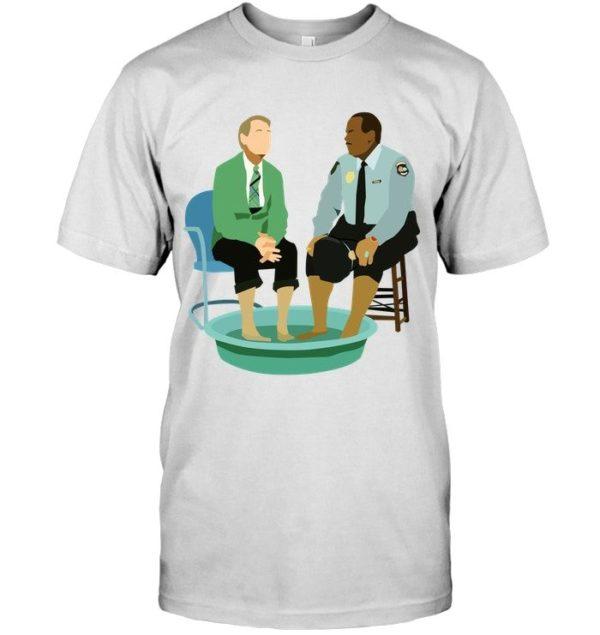 Mister Rogers and Neighborhood Policeman Pal Shirt Apparel