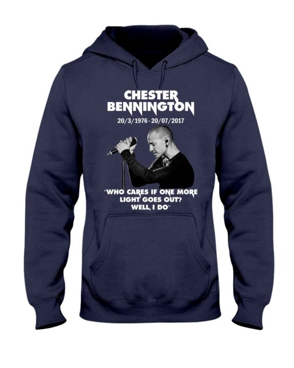 Chester Bennington Who Cares If One More Light Goes Out Shirt Apparel