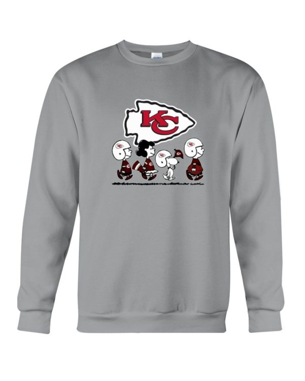 Kansas City Chiefs Snoopy Shirt Apparel
