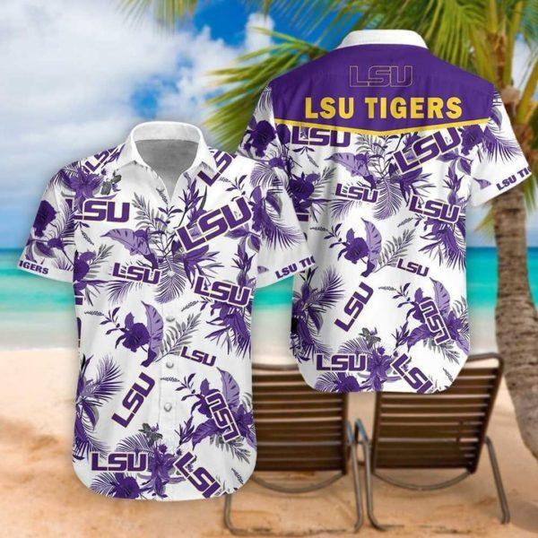 LSU Tigers Hawaiian shirt Apparel