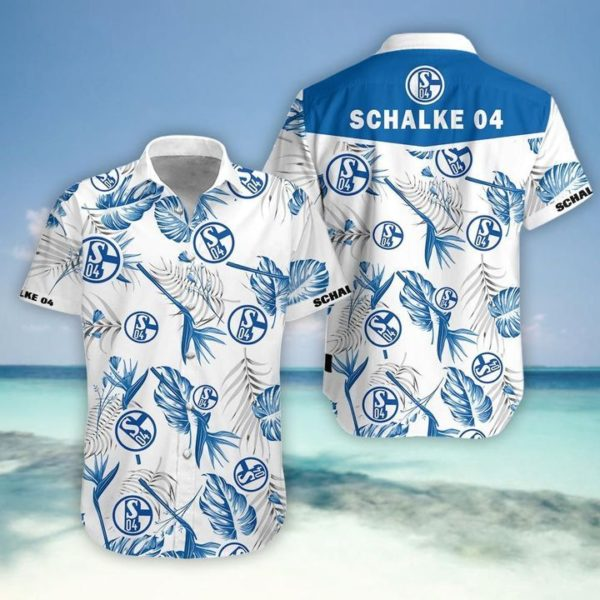 Schalke 04 Hawaiian Shirt Apparel