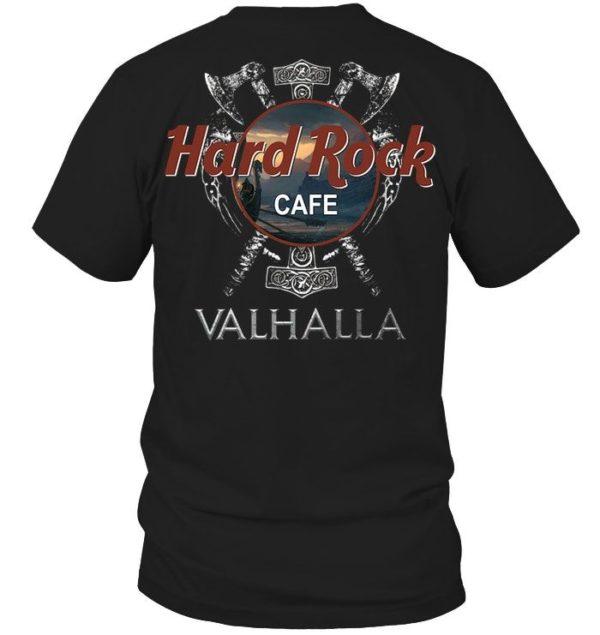 Hard Rock Cafe Valhalla Shirt Apparel