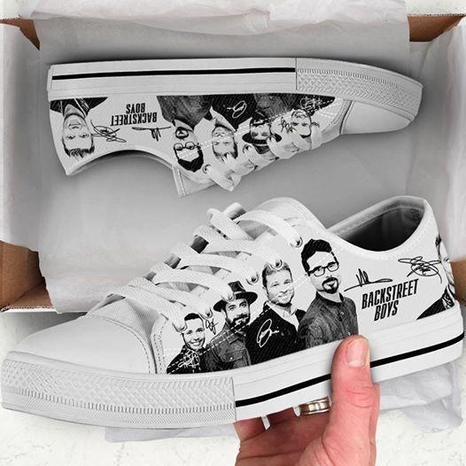 Backstreet Boys Low Top Shoes Apparel