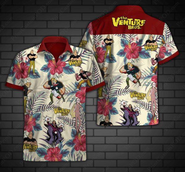 Venture Brothers Hawaii Shirt Apparel