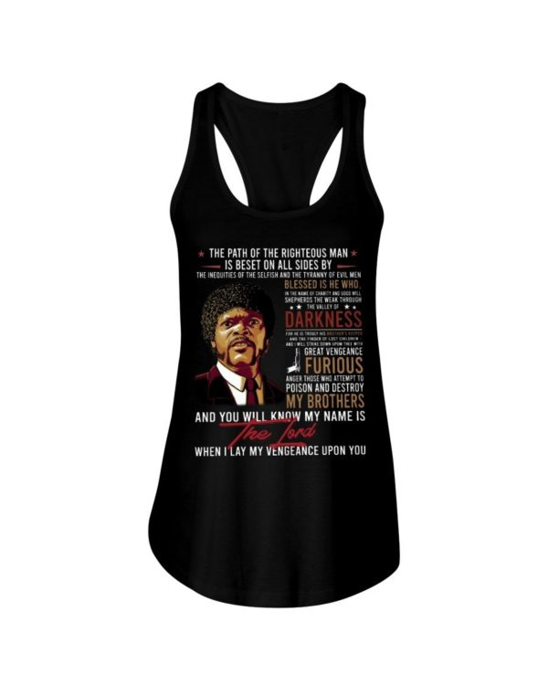 Samuel L. Jackson The Path Of The Righteous Man Shirt Apparel