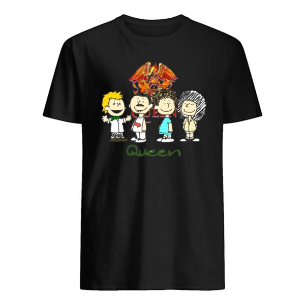 Snoopy vs Queen Parody Funny Shirt Apparel