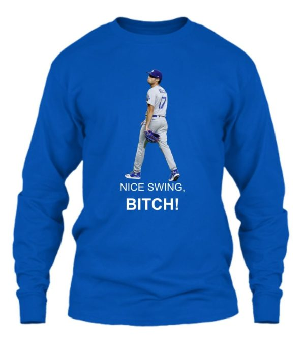 Joe Kelly Nice Swing Bi*ch Shirt Apparel