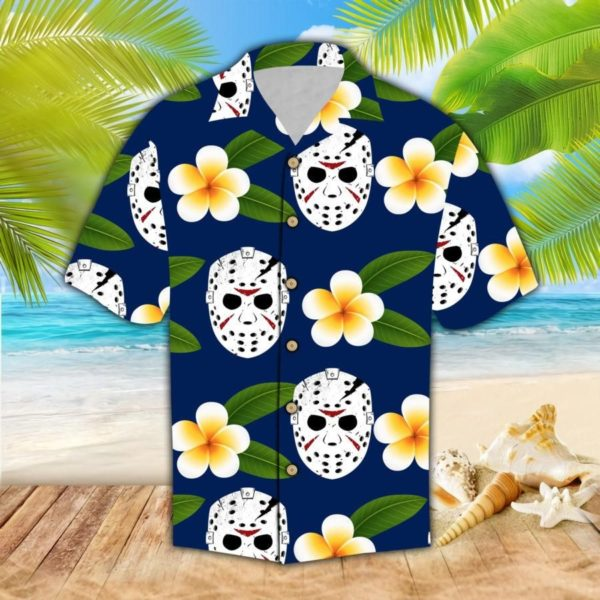 Jason Voorhees Horror Hawaiian Shirt Jisubin Apparel