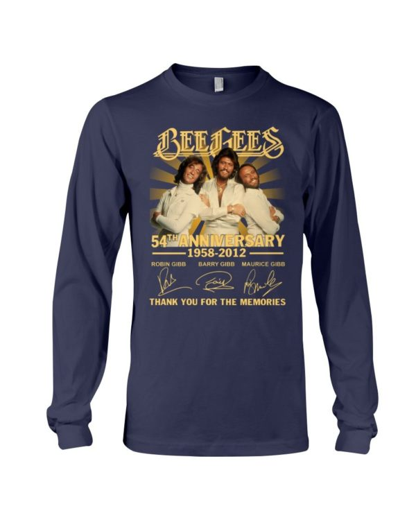 Bee Gees 50th Anniversary 1958 2012 Signature Shirt Apparel
