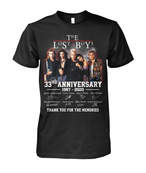 The Lost Boys 33rd Anniversary 1987 2020 Signature Shirt Apparel