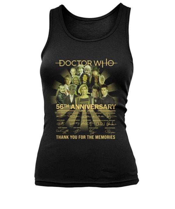 Doctor Who 56th Anniversary 1963 2020 Signature Shirt Apparel