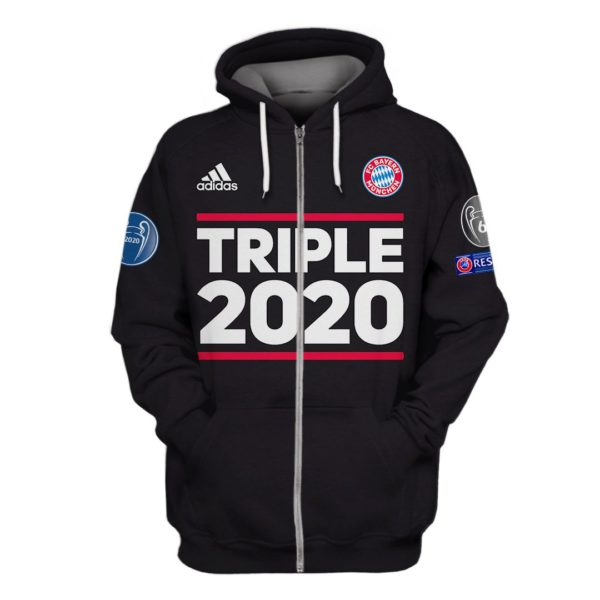 Triple 2020 3D All Over Print T Shirt Apparel