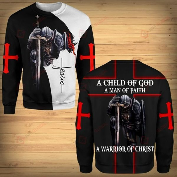 A Chill Of Gog A Man Of Faith A Warrior Of Christ 3D All Over Print T Shirt Apparel