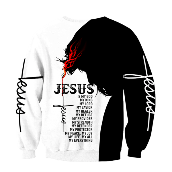 Easter Jesus 3D All Over Print T Shirt Apparel