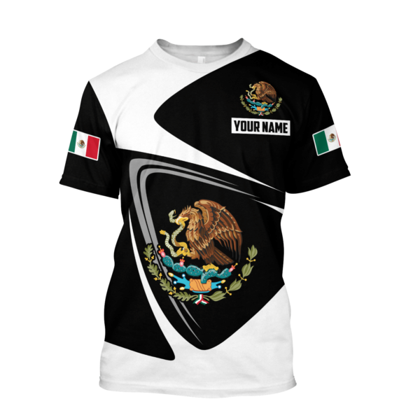 Mexico Customize 3D All Over Print Shirt Apparel