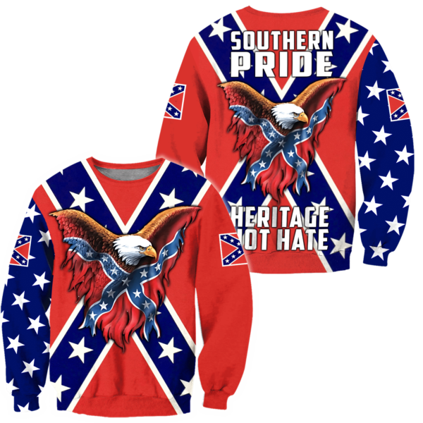 Confederate States of America 3D All Over Print Shirt Apparel