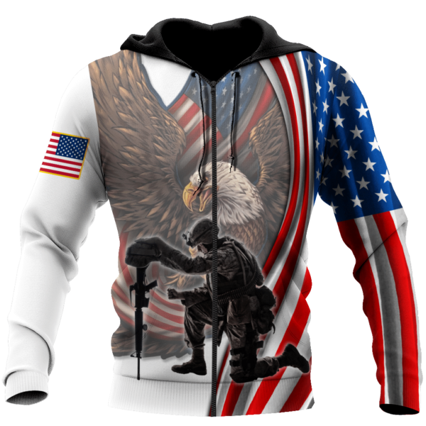 Stand For The Flag Kneel For The Fallen 3D All Over Print Shirt Apparel