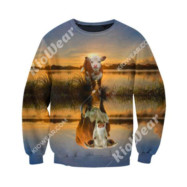 Aspiration Of The Calf 3D All Over Print Shirt Apparel